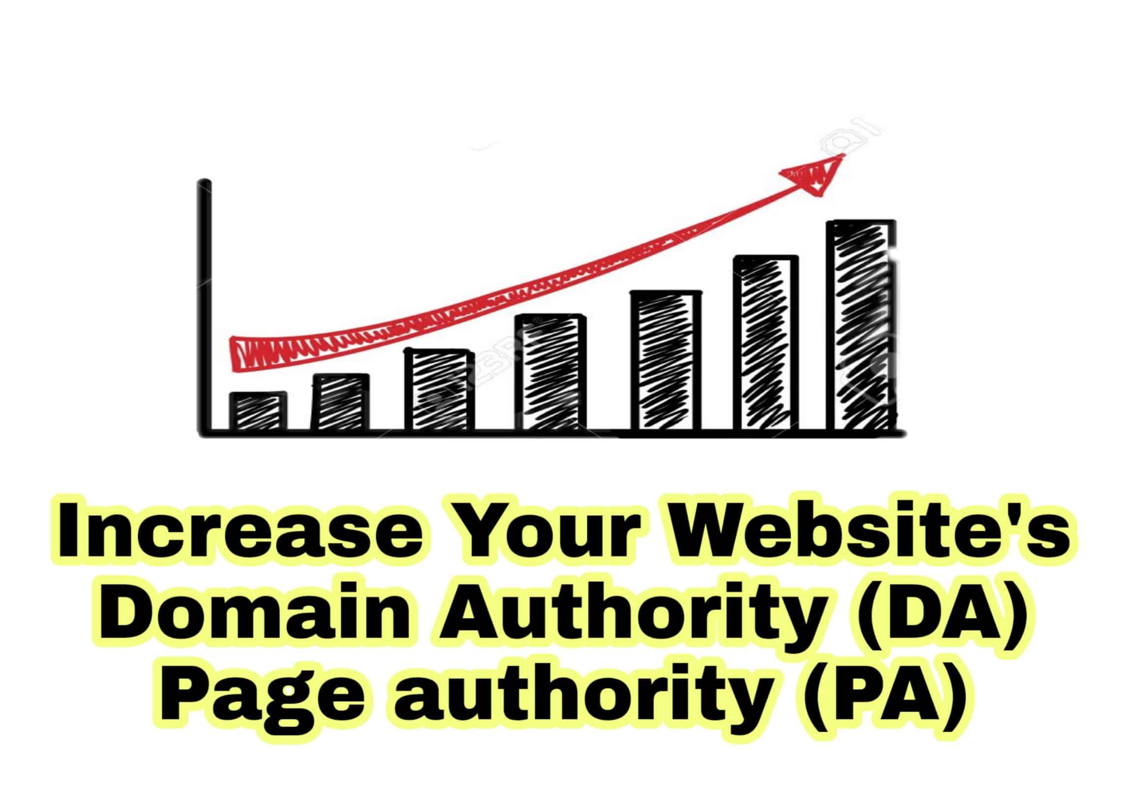 Increase Website's DA PA