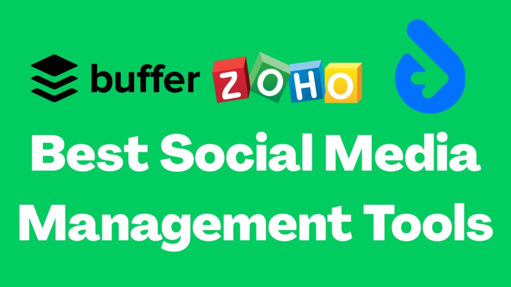 Social media management tools, best Social Media Management Tools