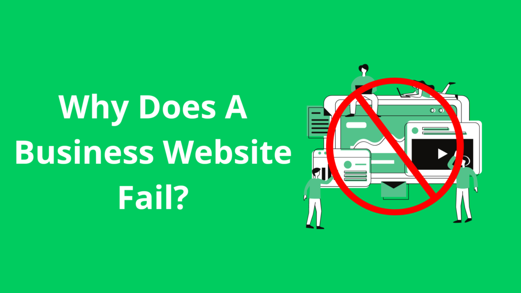 Why Does A Business Website Fail