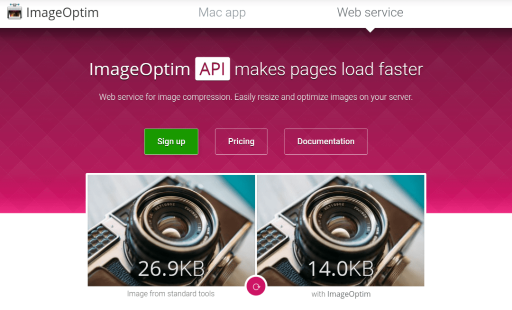 ImageOptim image compression